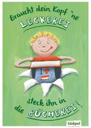 Bücherei-Poster